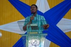 Ministering at 1st ECWA English Church