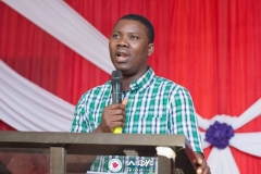 Ministering at Ilorin District Youth Convention